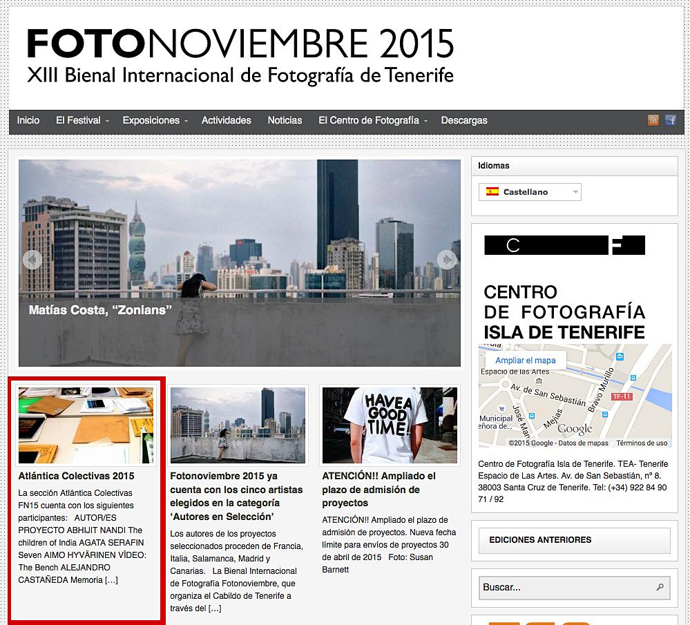 Fotonoviembre 2015_Atlantica Colectivas